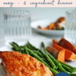 mayo parmesan crusted chicken - healthy dinner - pinterest