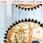 whole grain blender muffins - healthy easy breakfast - pinterest