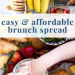 easy cheap trader joe's breakfast board spread - pinterest