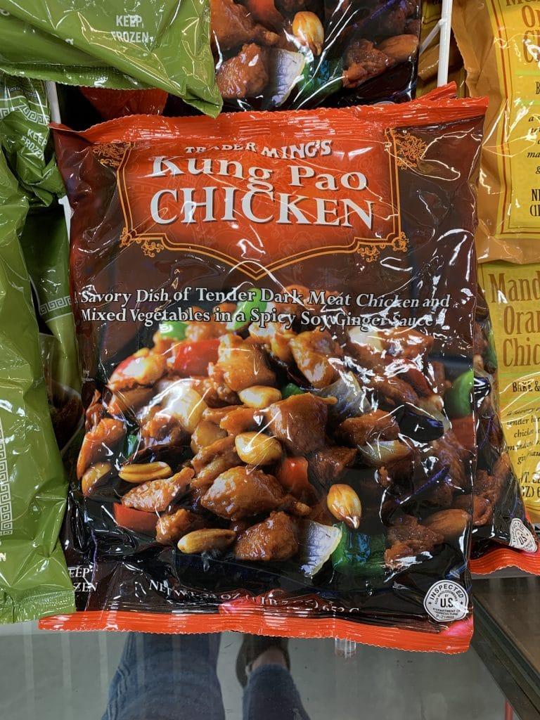 trader joe's kung pao chicken