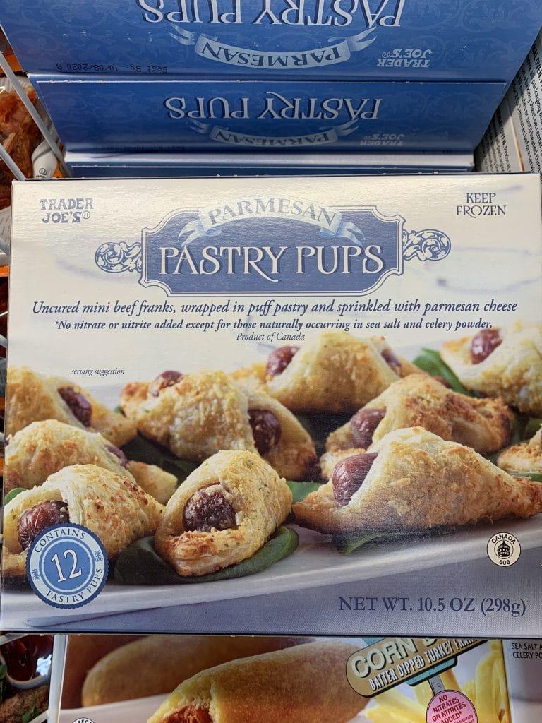 trader joe's pastry pups