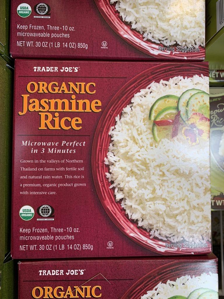 trader joe's frozen rice