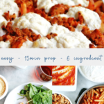 easy baked ziti pasta dinner - italian - pinterest