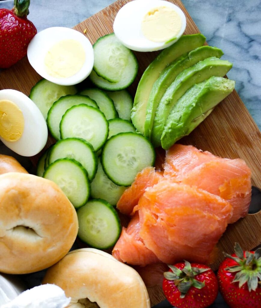 bagels and lox