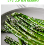 broiled asparagus recipe - pinterest