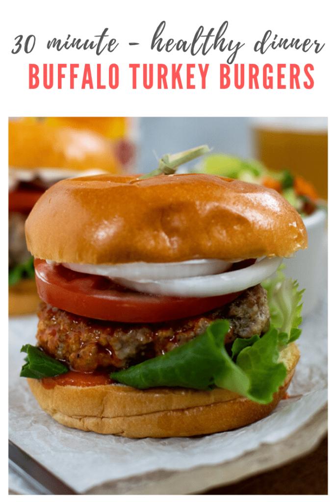 healthy turkey burger recipe - pinterest
