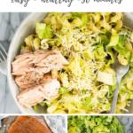 Caesar pasta salad recipe - pinterest