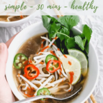 Chicken Pho recipe - pinterest