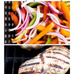 grilled turkey fajitas - pinterest