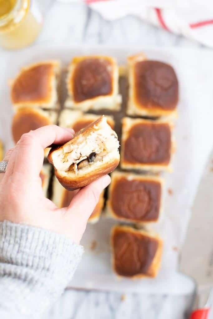 baked turkey sliders