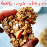 baked apple oatmeal recipe - pinterest