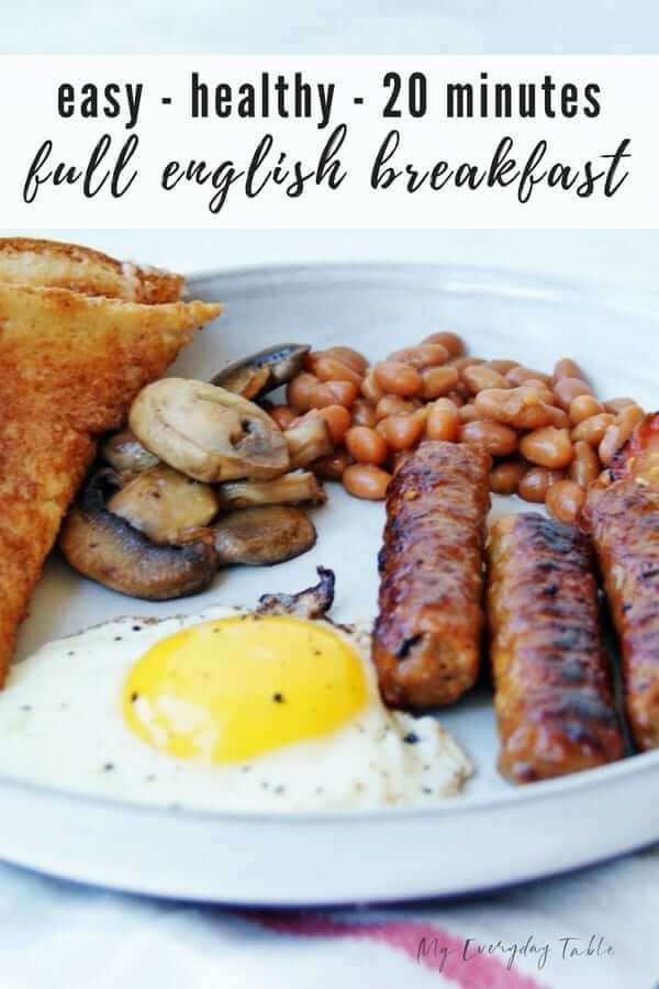 Healthy Full English Breakfast Recipe 9