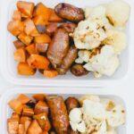One Pan Sausage and Veggies Meal Prep 12