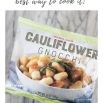 Trader Joe's cauliflower gnocchi - pinterest