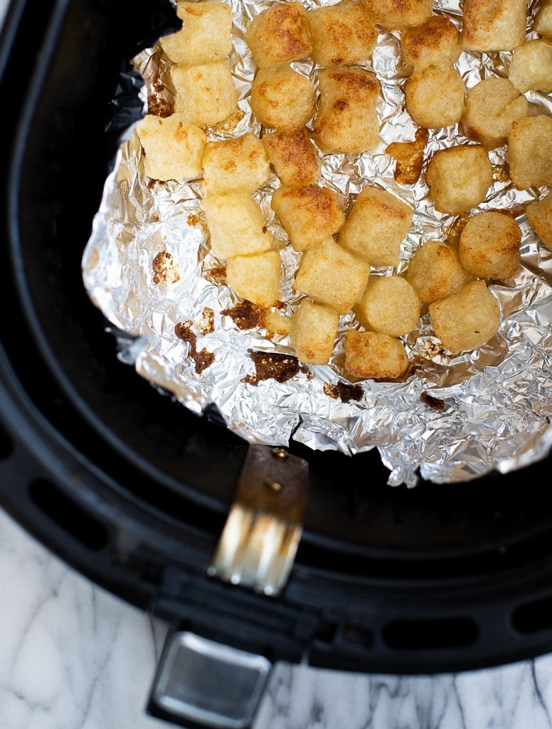 Cooking cauliflower gnocchi in air fryer