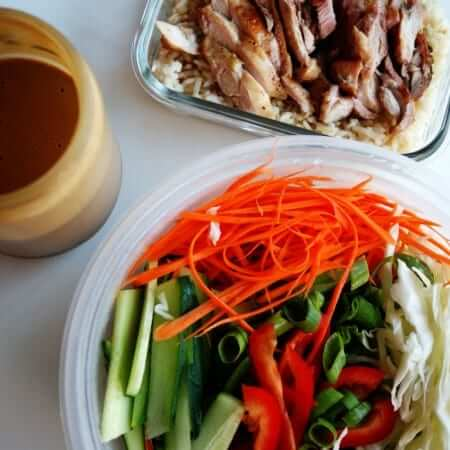 Peanut Chicken Salad   anutritionisteats.com