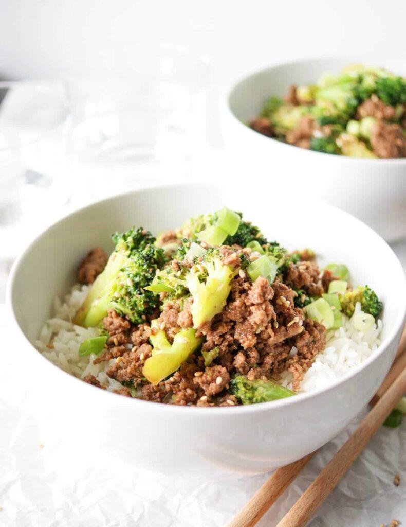ground beef and broccoli recipe