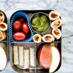 chicken taquito bento box lunch