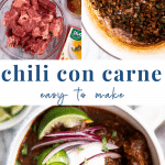 chili con carne recipe - pinterest