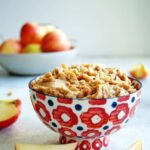 Creamy Peanut Butter Apple Dip iscreamy, nutty, and slightly sweet.