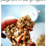 healthy baked oatmeal bars - pinterest