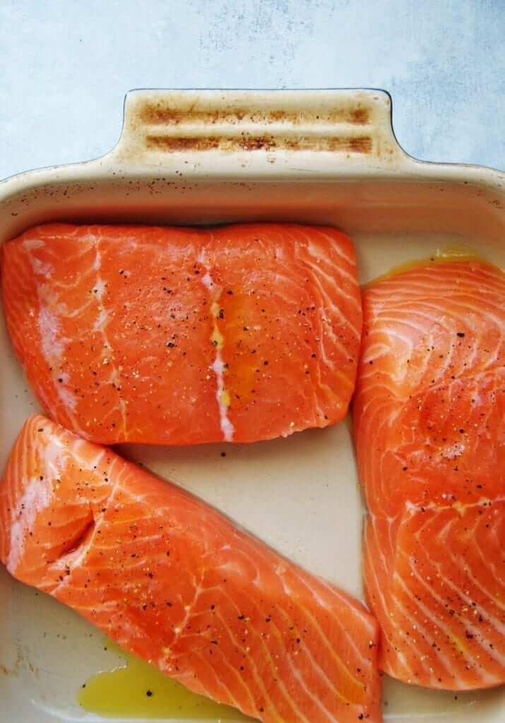 salmon to bake