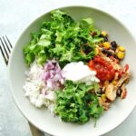 slow cooker chicken burrito bowls 6
