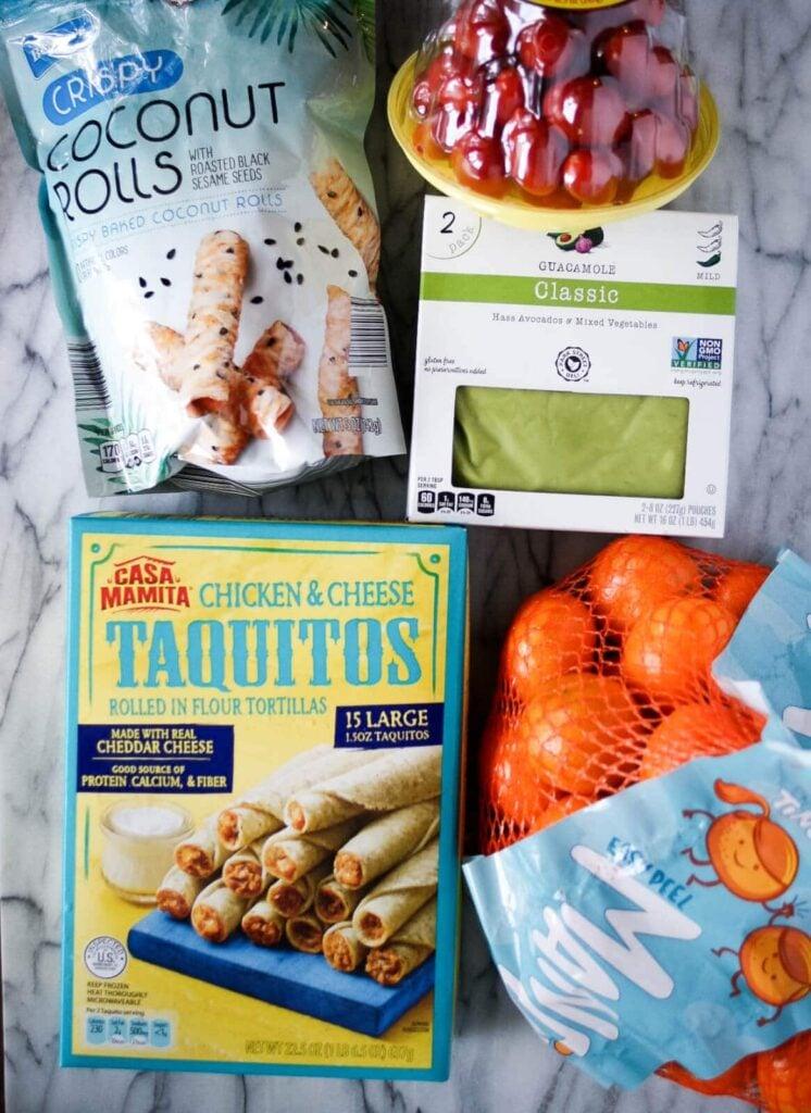 aldi ingredients for school lunch